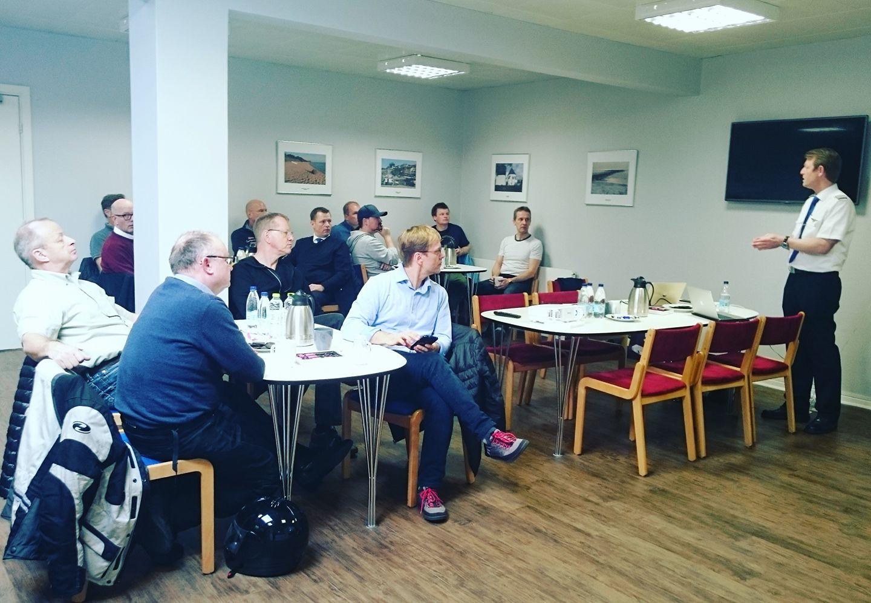 Medlemsmøde i DPF (Arkivfoto: Dansk Pilotforening)