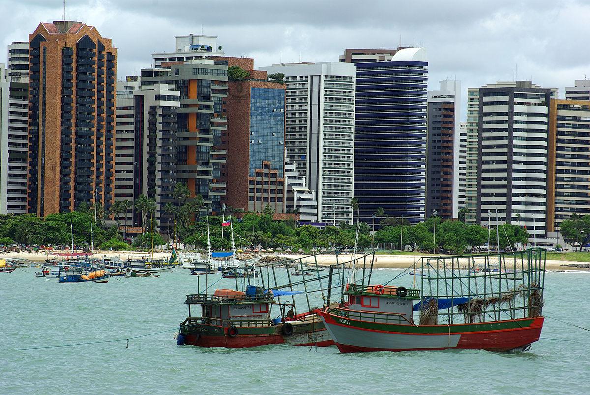 Fortaleza i delstaten Ceará i det nordøstlige Brasilien (Foto:  Otávio Nogueira   Creative Commons 2.0)