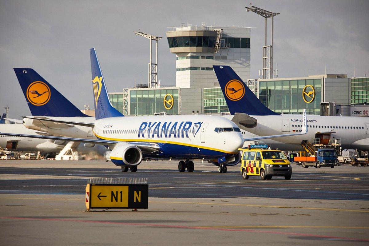 Ryanair i Frankfurt Lufthavn (Foto: Lufthansa)
