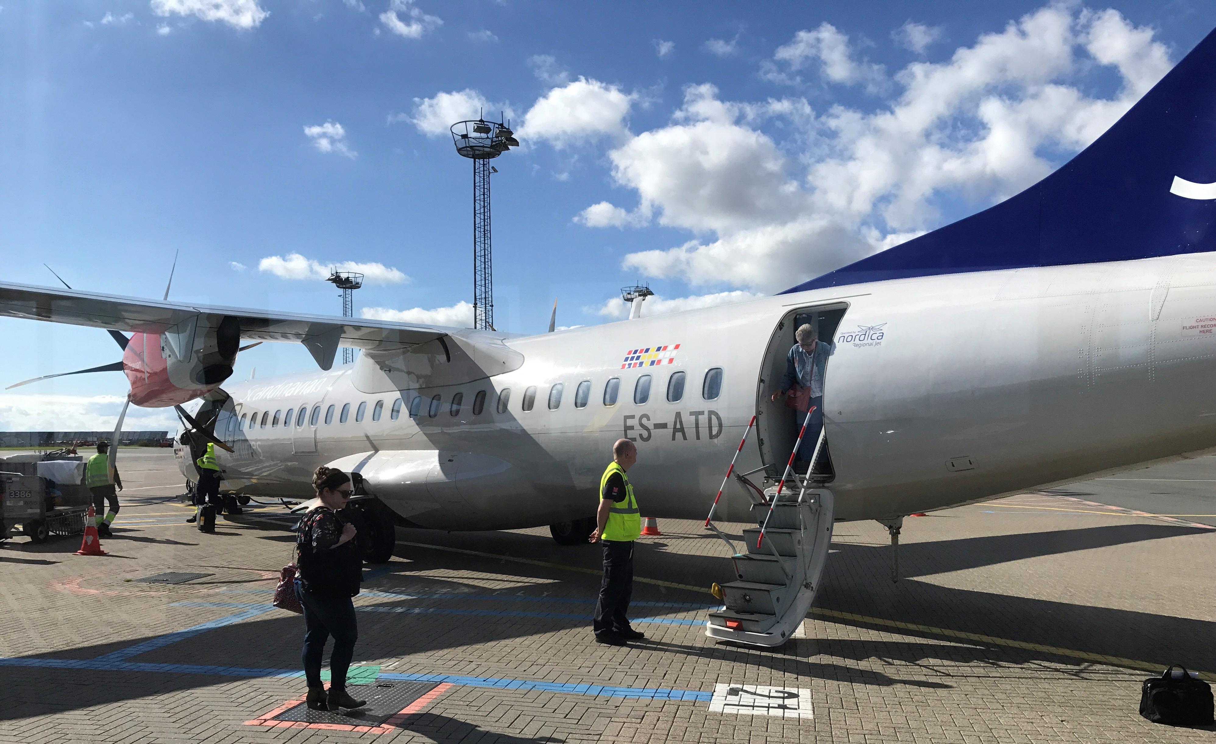 Regional Jet ATR72-600 (ES-ATD) opereret for SAS (Foto: Ole Kirchert Christensen)