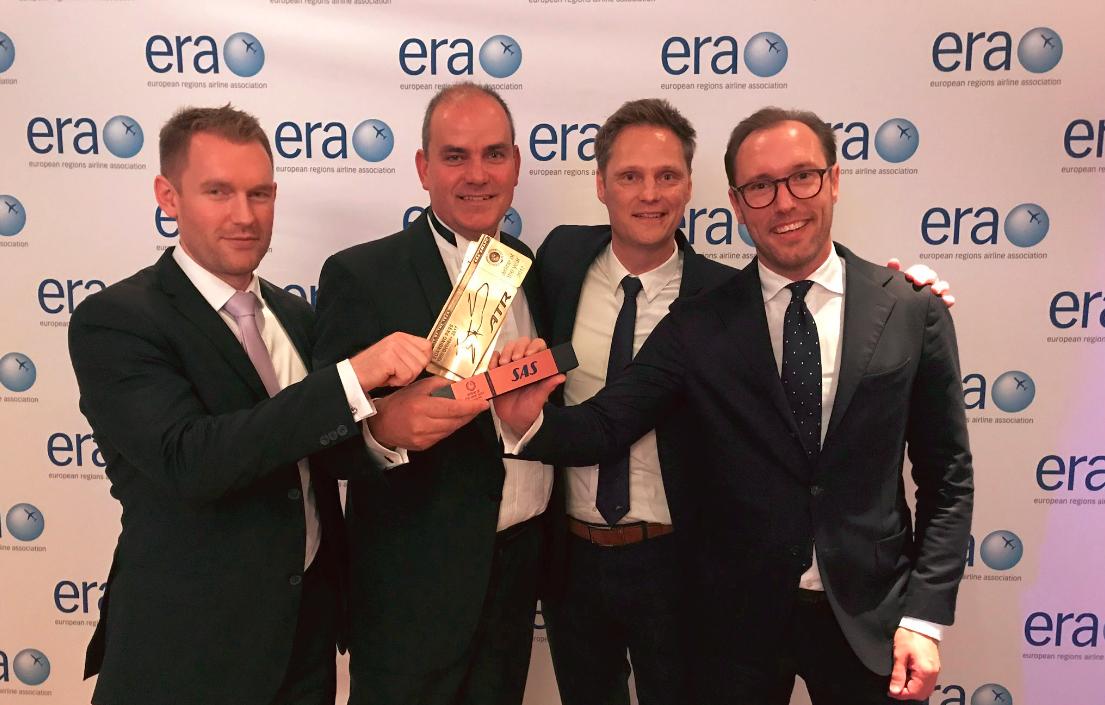 SAS-teamet modtager ERA´s bronzepris. (Foto: ERA)