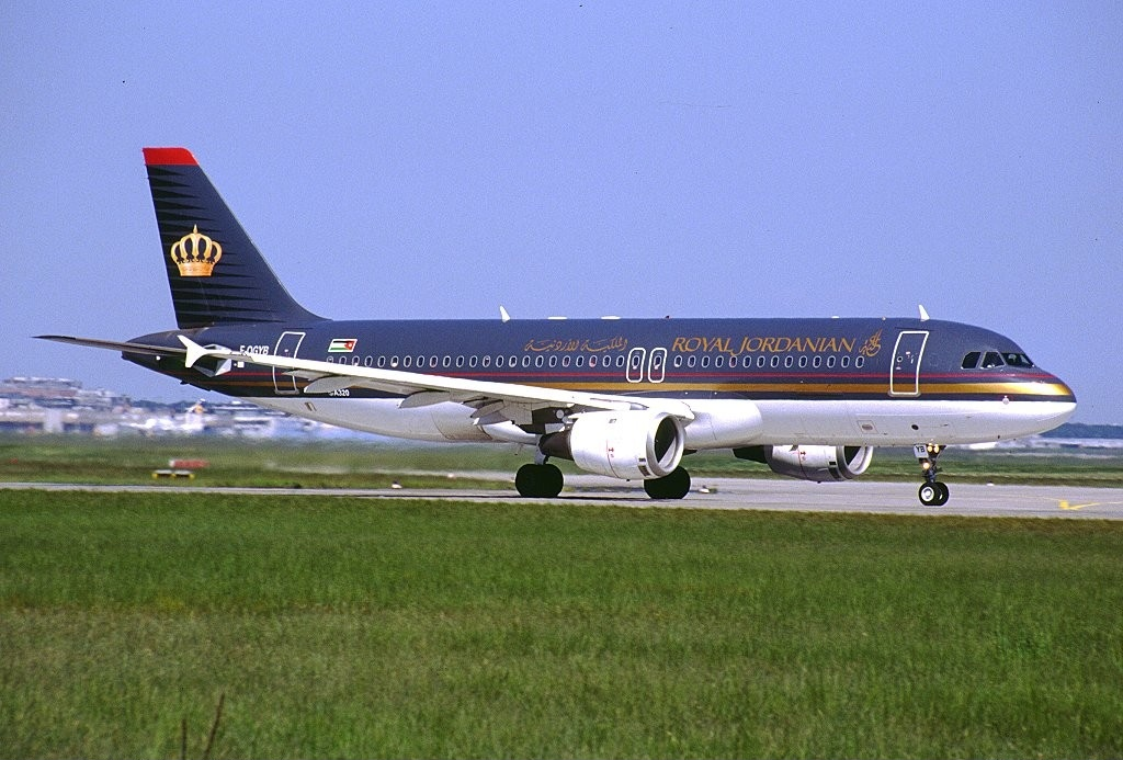 Airbus A320-200 fra Royal Jordanian Airline (Foto: Konstantin von Wedelstaedt | GNU Free Documentation License)