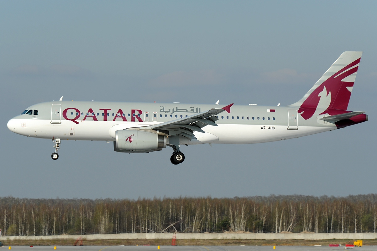 Airbus A320-200 fra Qatar Airways. (Foto: Toshi Aoki – JP Spotters | Creative Commons 3.0)