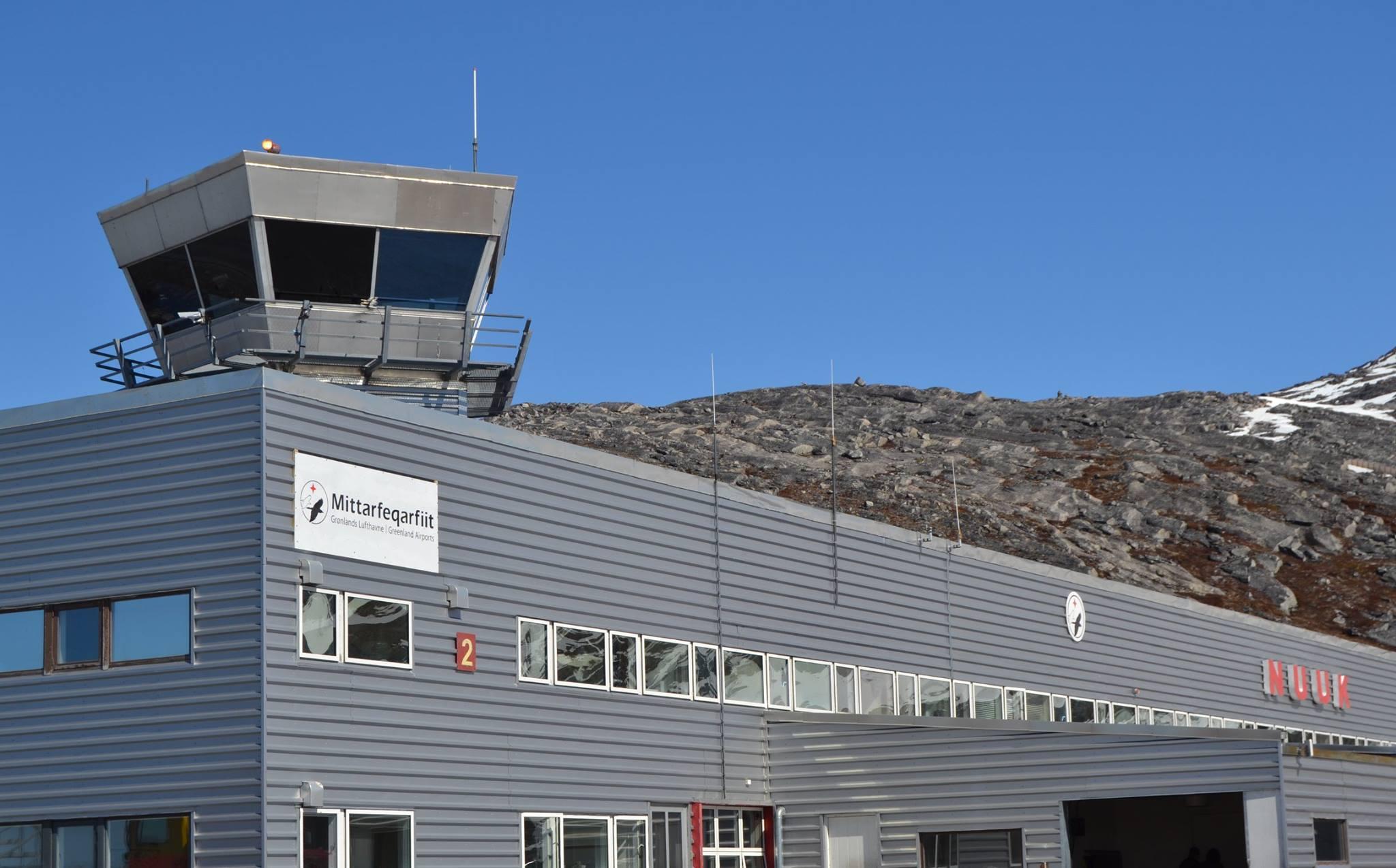 Mittarfeqarfiit – Grønlands Lufthavne – hovedkontoret i Nuuk. (Foto: Mittarfeqarfiit)