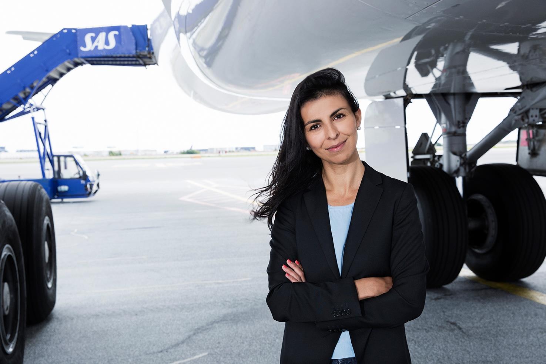 Mariam Skovfoged fra SAS i Danmark (Foto: Thilde Dehlsen)