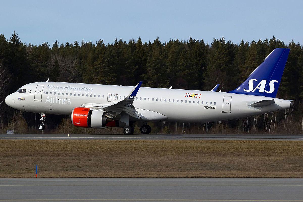 SAS Airbus A320-200neo (Foto: Bene Riobó | Creative Commons 4.0)