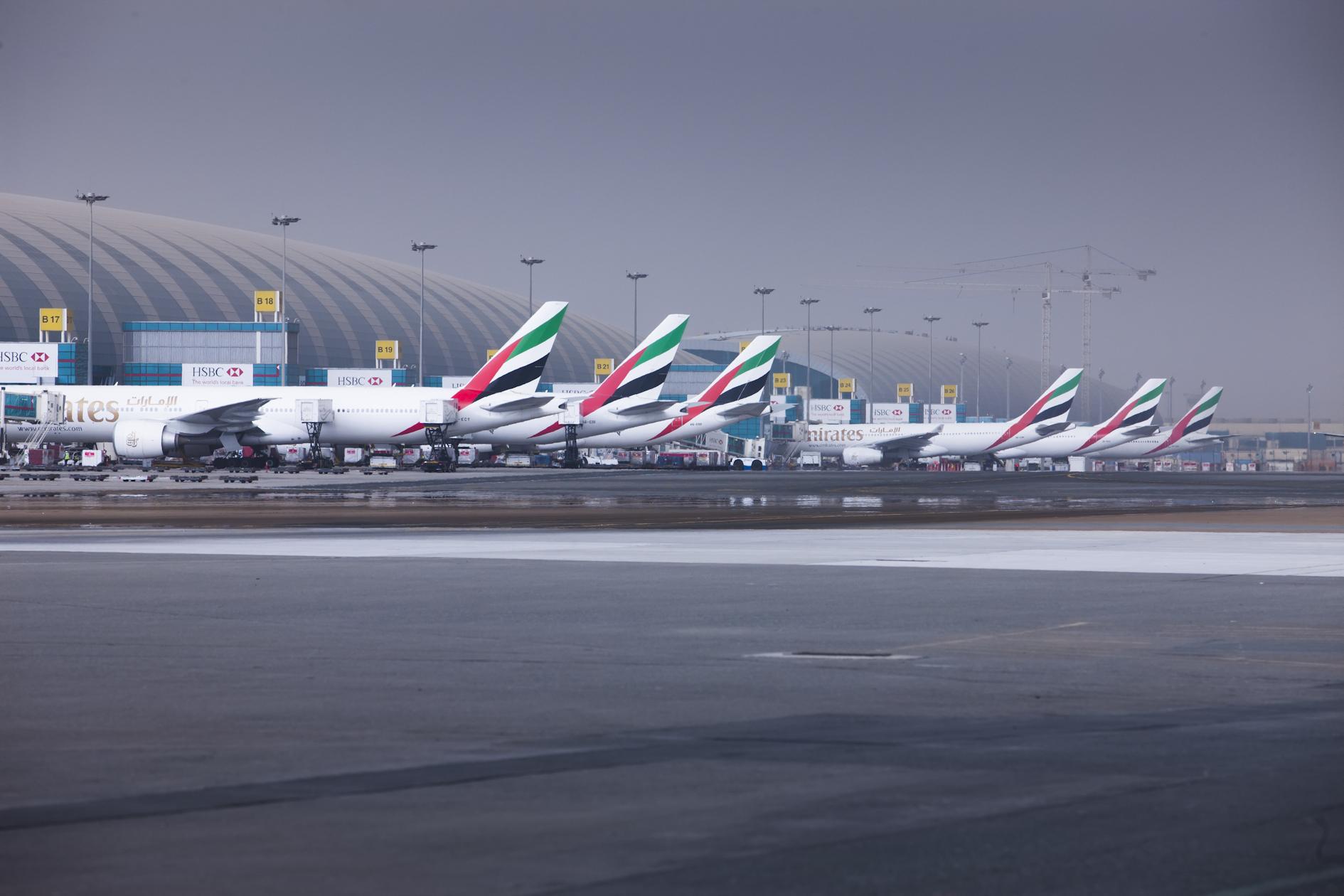 Foto: Dubai International Airport.