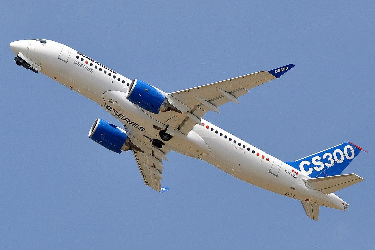 Bombardier CS300 (Foto: Eric Salard | CC 2.0)