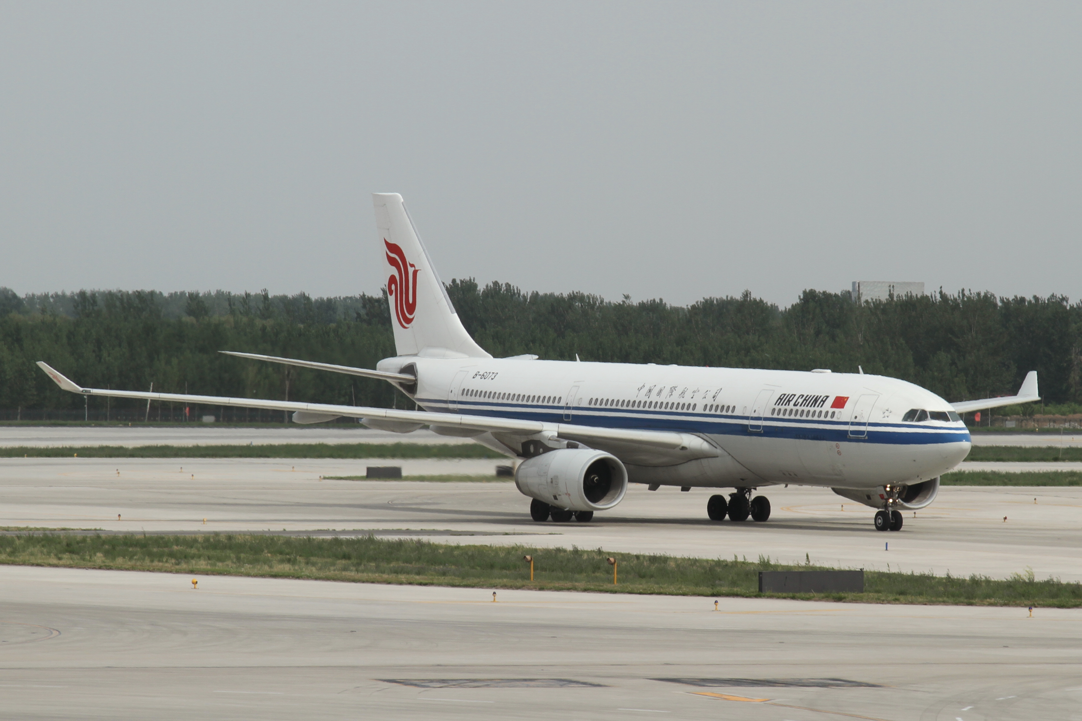 Airbus A330-200 fra Air China. (Foto: Kentaro Lemoto)