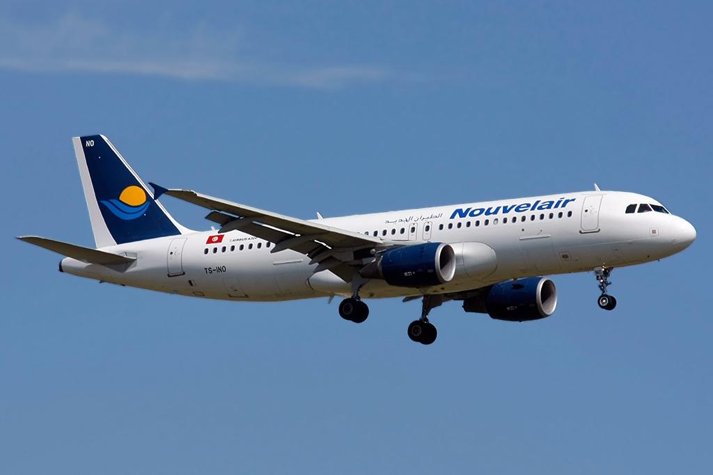 Nouvelair Tunisie Airbus A320-200. (Foto: Pedro Aragão   Creative Commons 3.0)