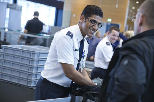 Sikkerhedskontrollen i Københavns Lufthavn. (Foto: CPH)