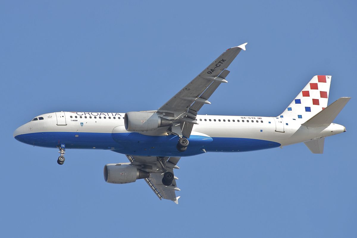 Croatia Airlines Airbus A320-200 (Foto: Aero Icarus | Creative Commons 2.0)