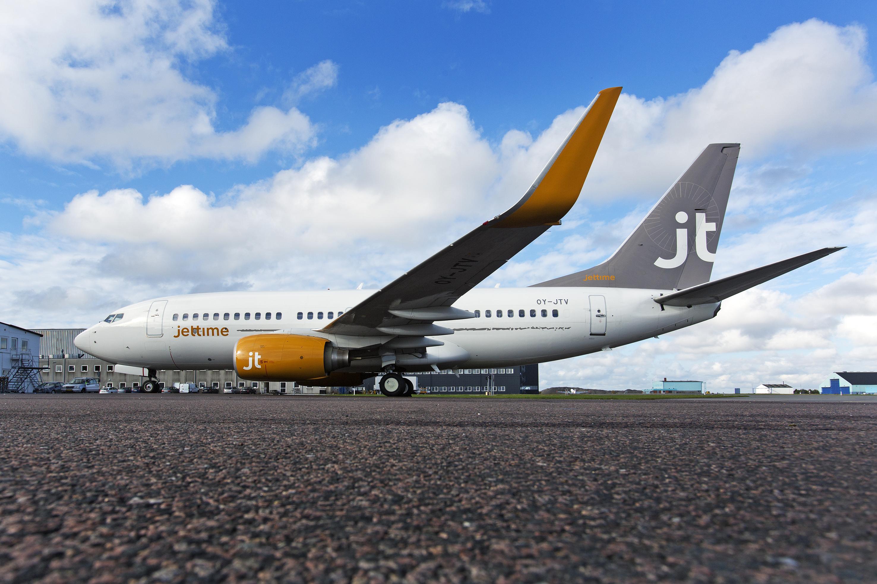 Jet Time Boeing 737 (Foto: Thorkild Jensen)