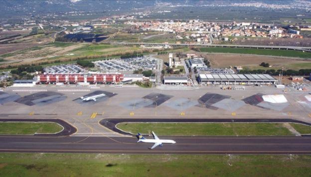 Lamezia Airport.
