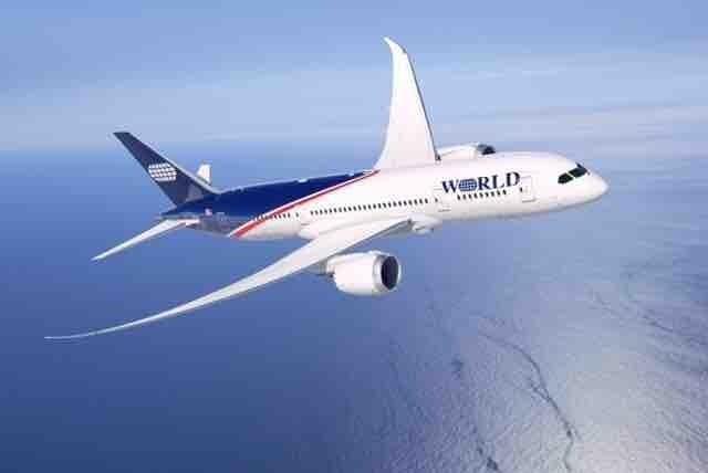 World Airways – Boeing 787 Dreamliner.