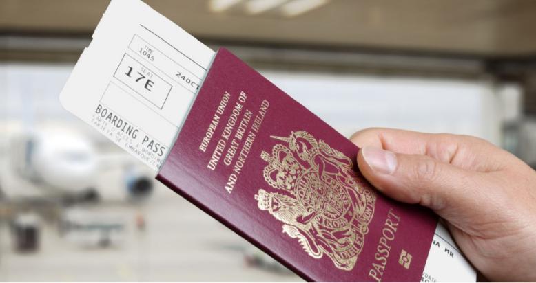 Boardingkort fra British Airways. (Foto: British Airways)