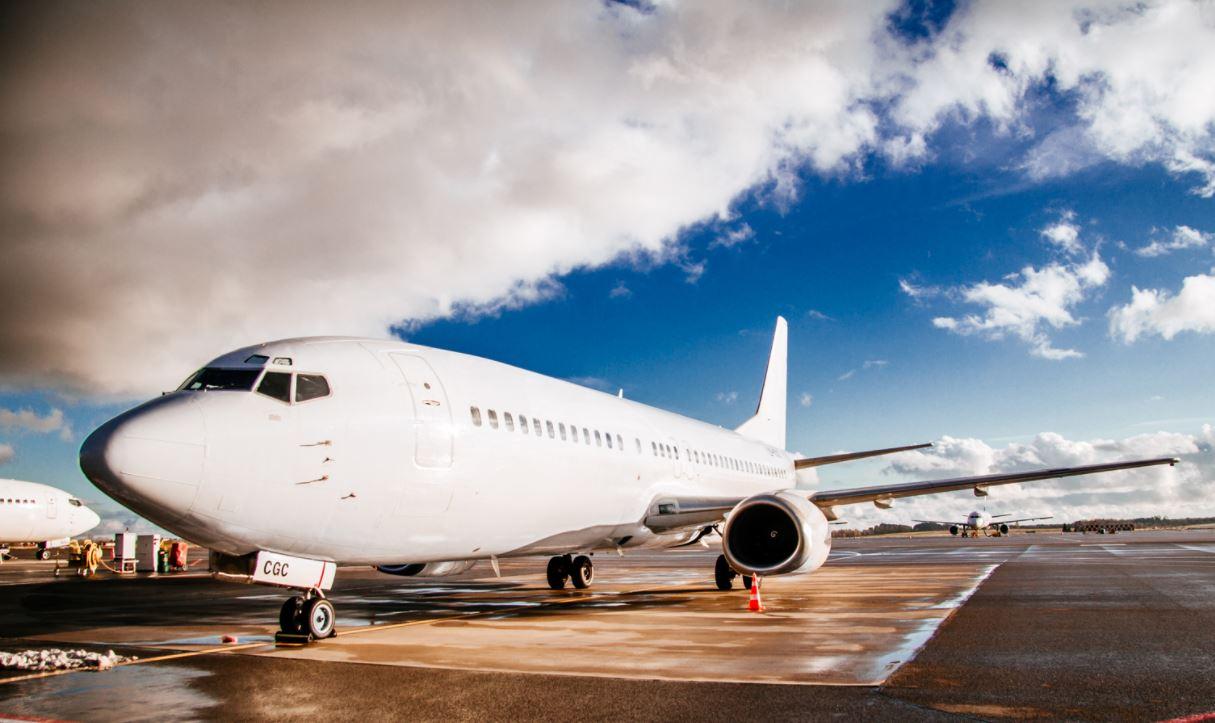 Et Boeing 737-400 fly fra GetJet. Foto: GetJet.