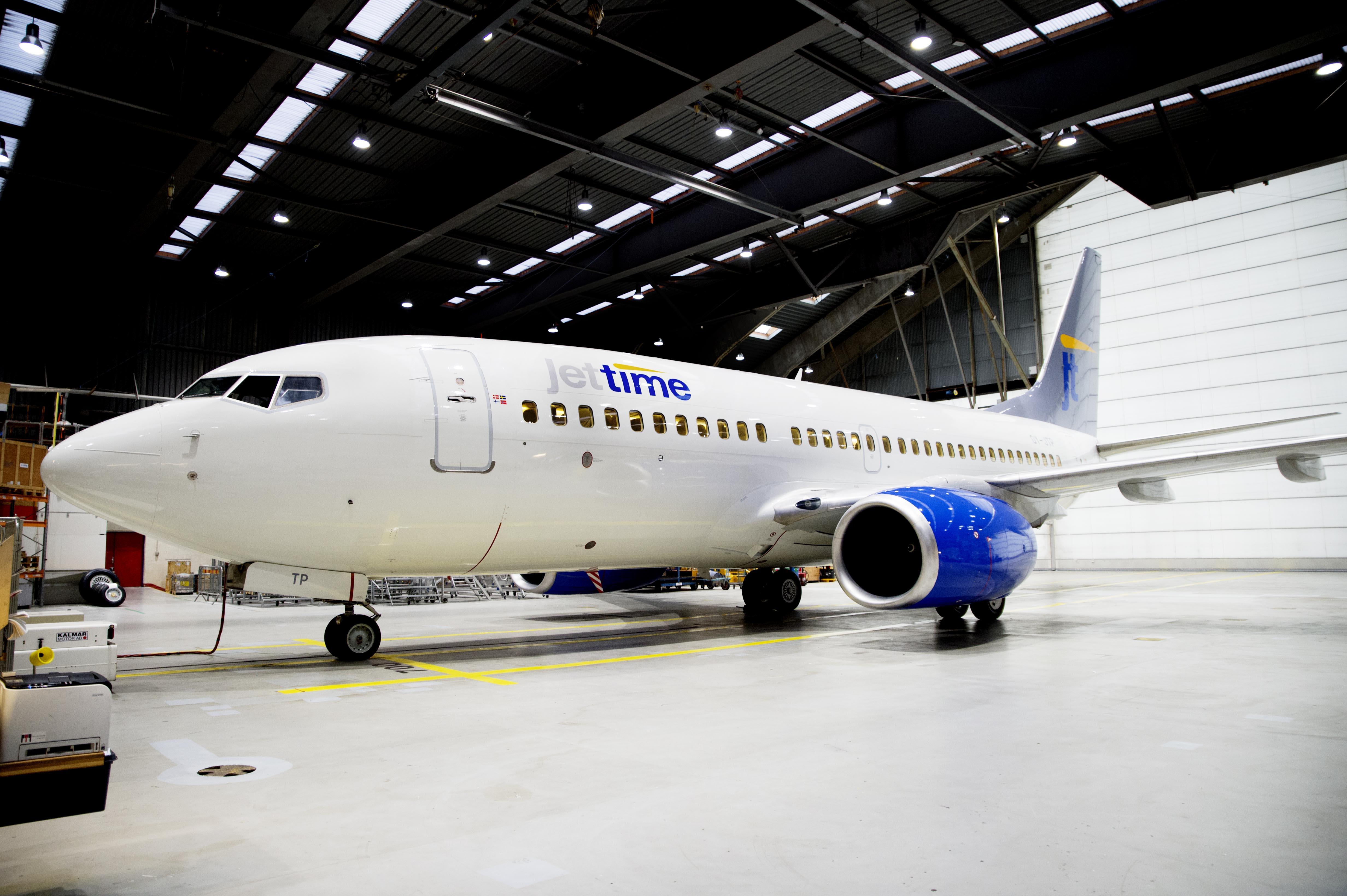 Jet Time Boeing 737-700 – OY-JTP (Foto: Erik Refner)