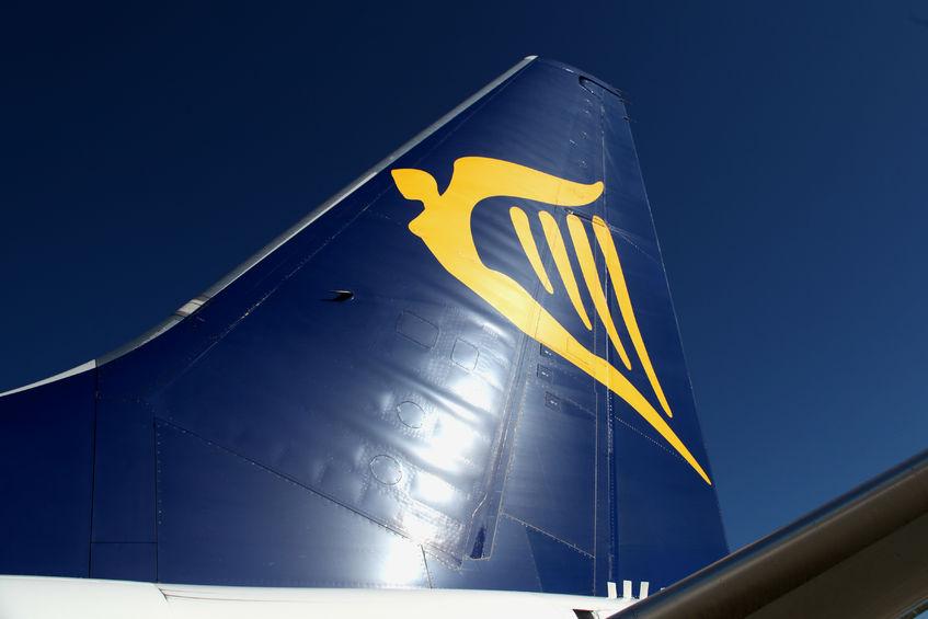 Flyhale på Ryanair Boeing 737. (Arkivfoto; Trevor Benbrook)