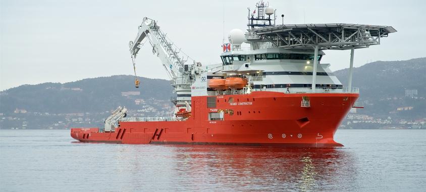 Det norske skib Seabed Constructor sættes nu ind i eftersøgningen efter MH370. Foto: Swire Seabed.