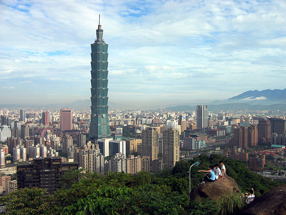 Taipei (peellden   GNU free documentation license)