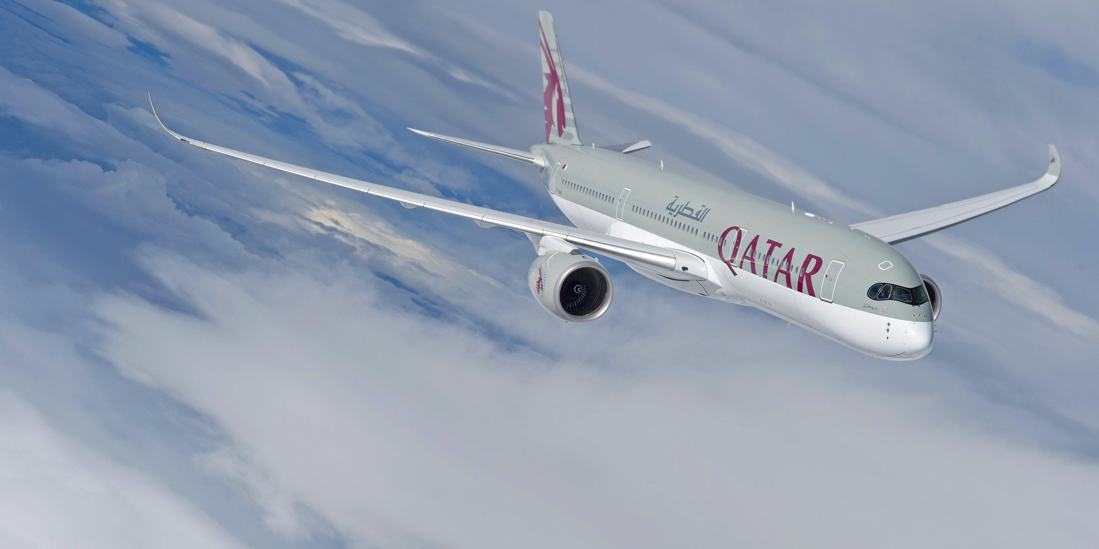 Airbus A350-900 fra Qatar Airways (Foto: Qatar Airways)