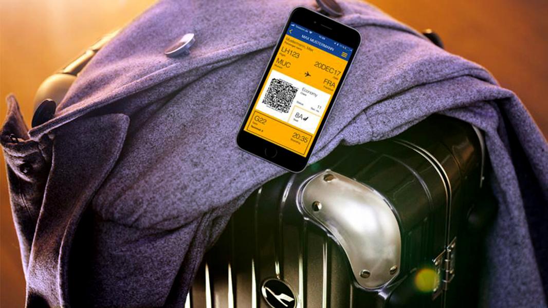 Lufthansa har indført automatisk check-in for sine passagerer. Foto: Lufthansa