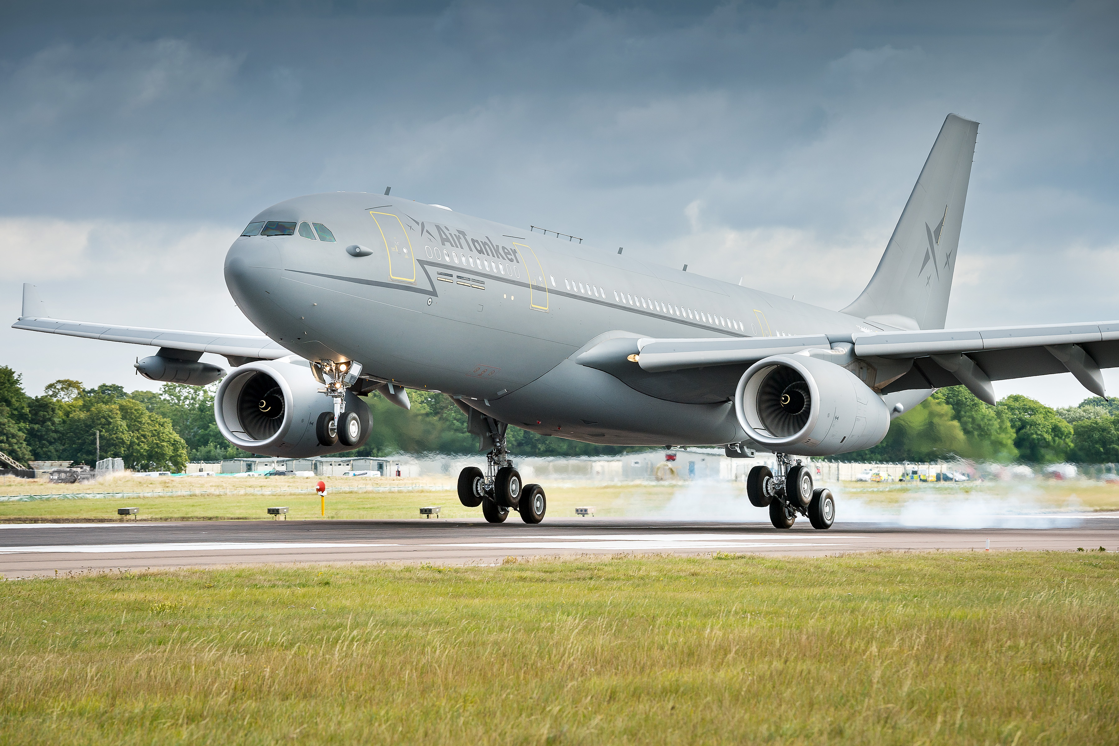 Airbus A330-200 fra AirTanker. (Foto: AirTanker)