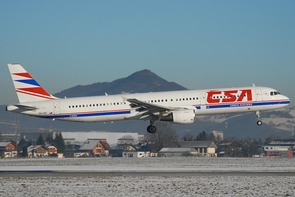 CSA Czech Airlines A321-200 (Arkivfoto: Rschider)