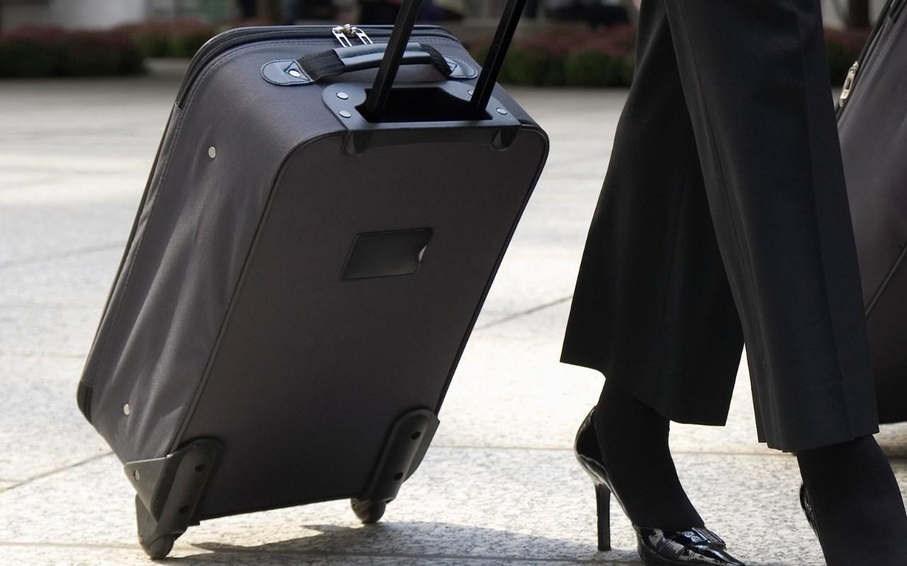 Kun håndbagage på SAS Go Light (Arkivfoto: SAS AB)