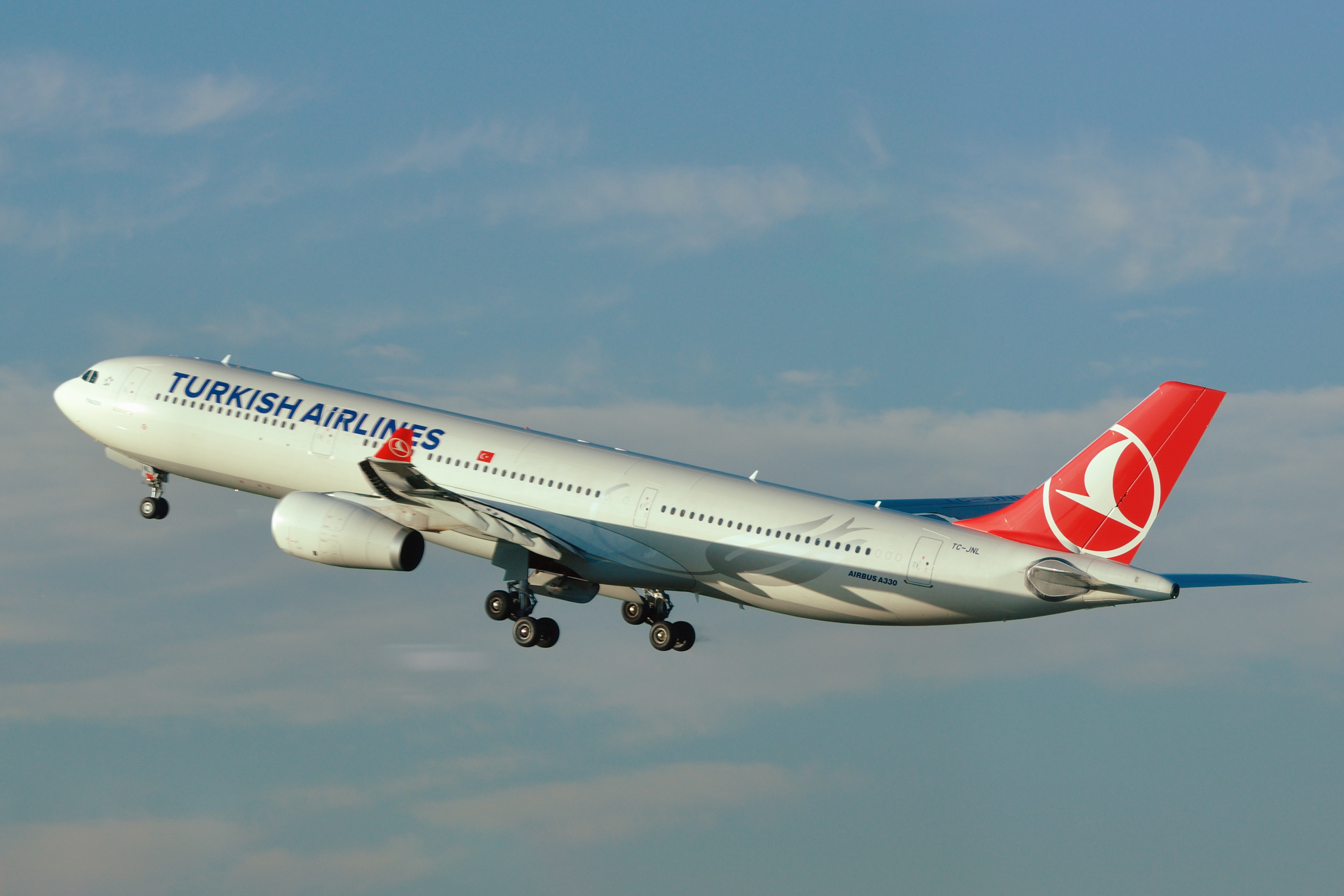 Airbus A330-300 fly fra Turkish Airlines. (Foto: Hansueli Krapf / Wikimedia Commons)