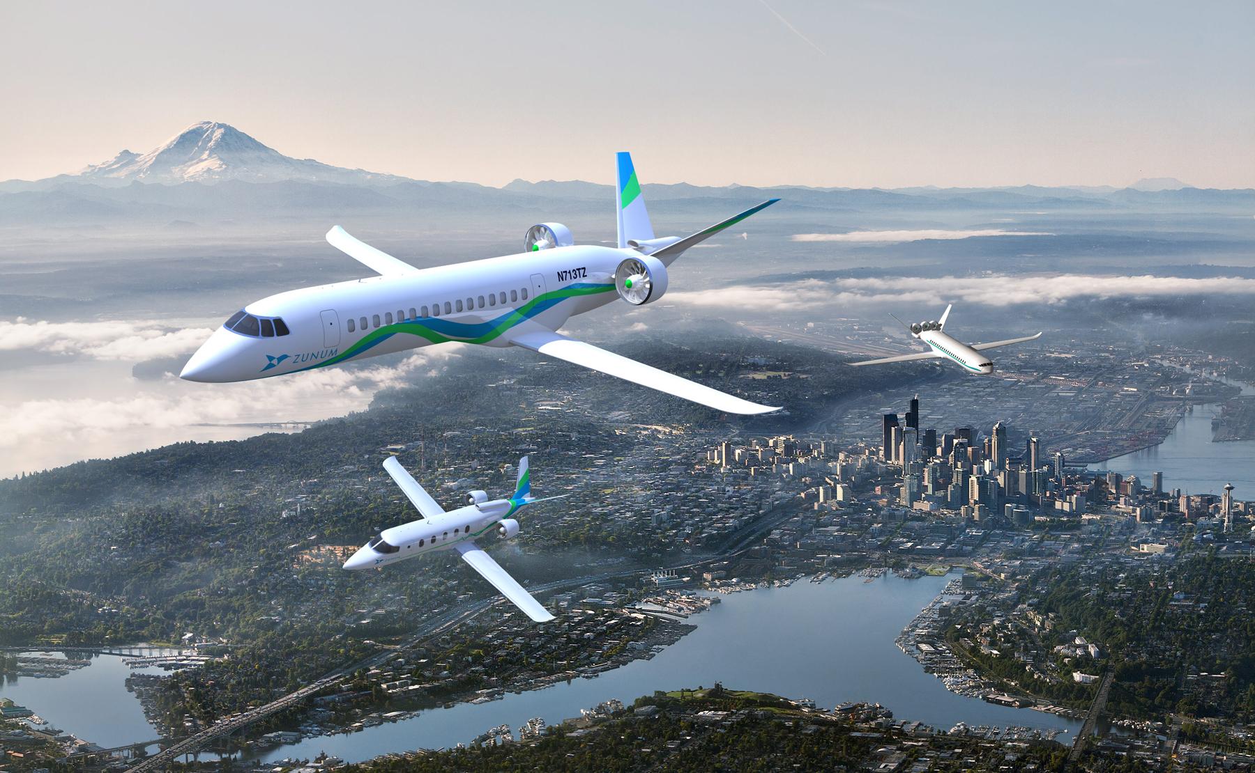 Elektriske fly fra Zunum Aero (Zunum Aero)