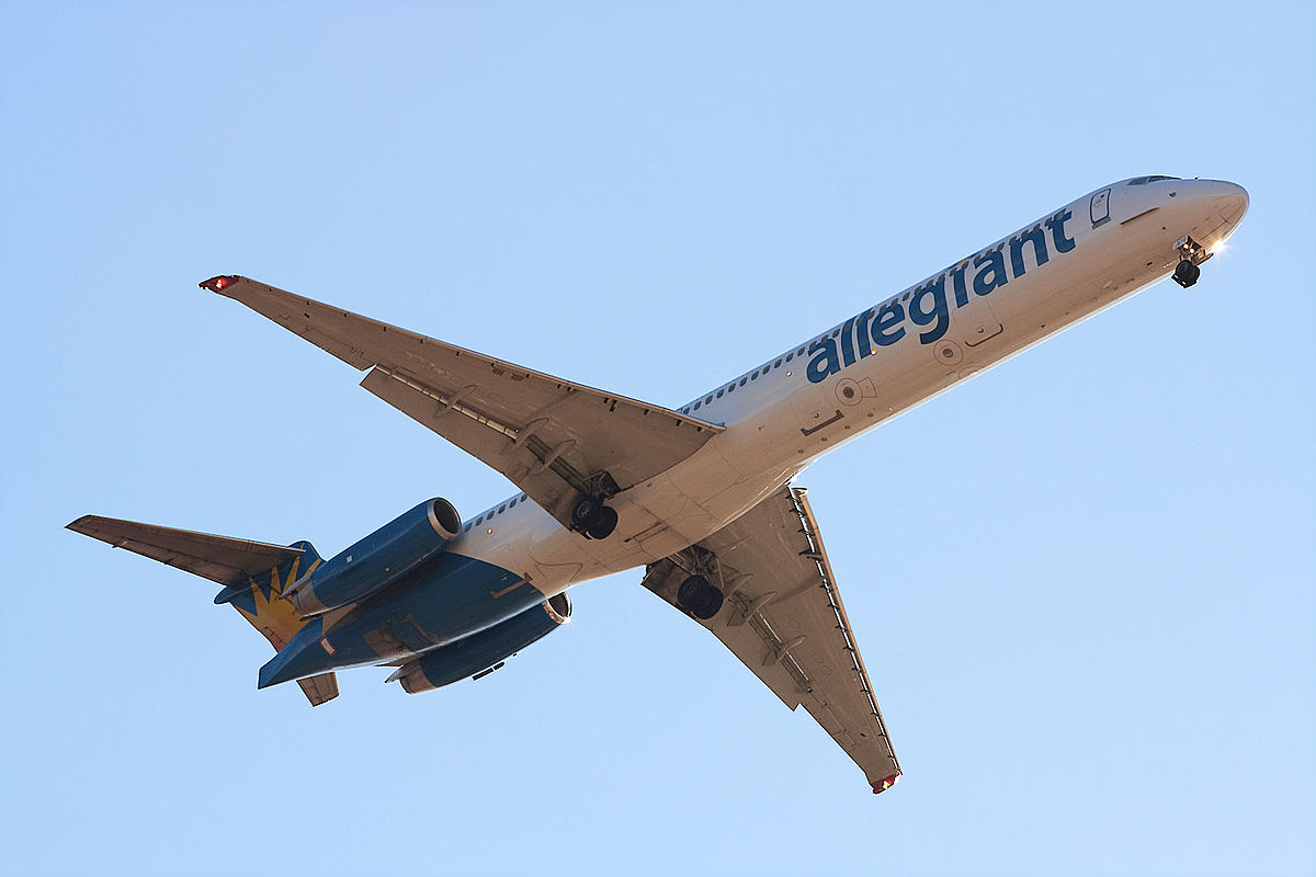 MD-83 fra Allegiant Air (Foto: Josh Beasley | Creative Commons 2.0)