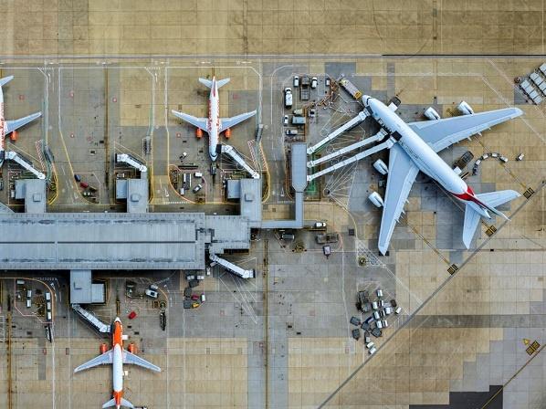 Gatwick havde lidt mere vækst i trafikken end Heathrow. Foto London Gatwick Airport.