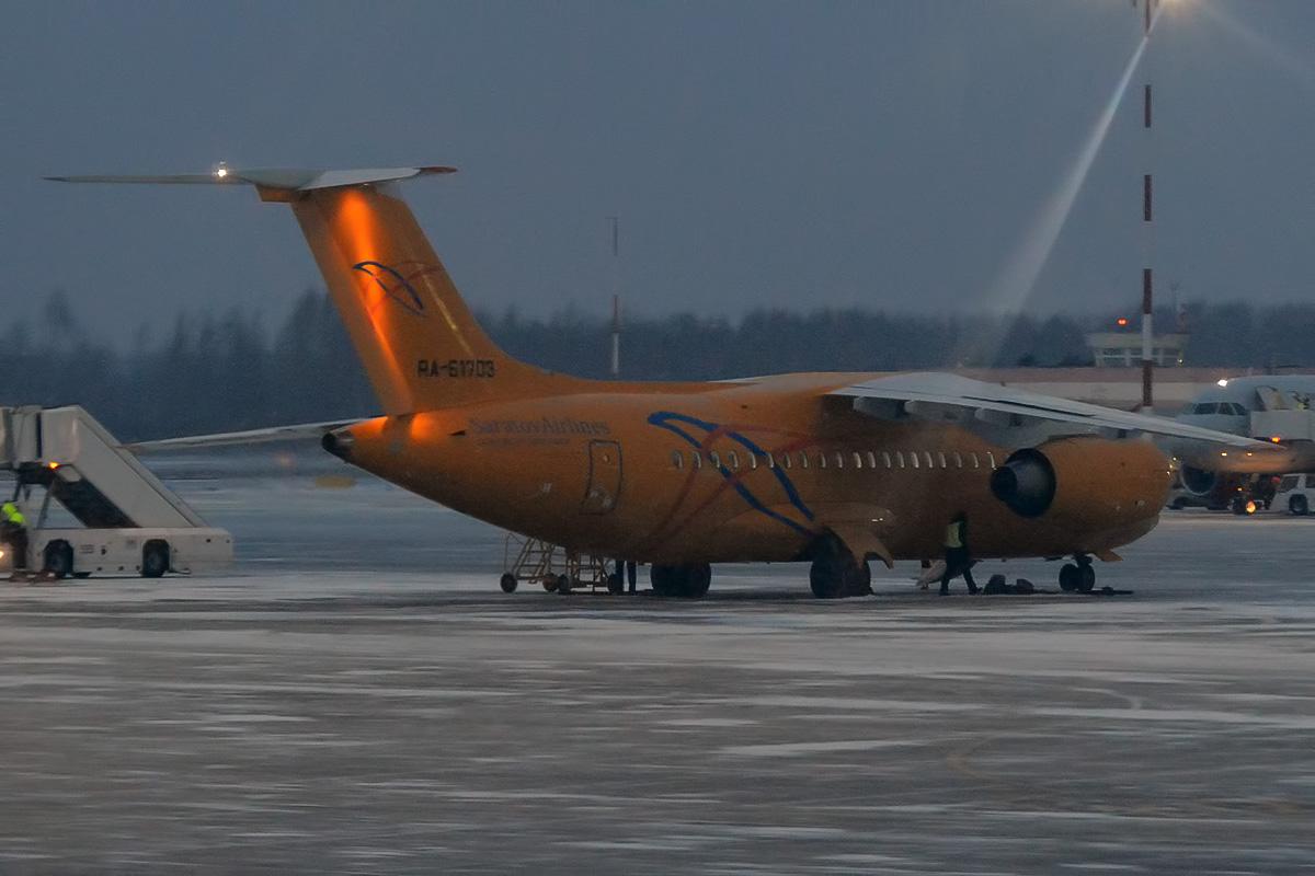 Saratov Airlines Antonov An-148, reg. nr. RA-61703. (Foto: Anna Zvereva    Creative Commons 2.0)