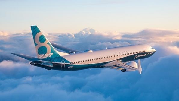 Boeing 737 MAX. Foto: Boeing.
