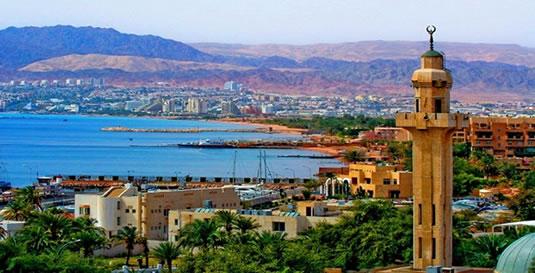 Aqaba i Jordan får fire nye flyruter med Ryanair. Foto: Jordans Turistråd.