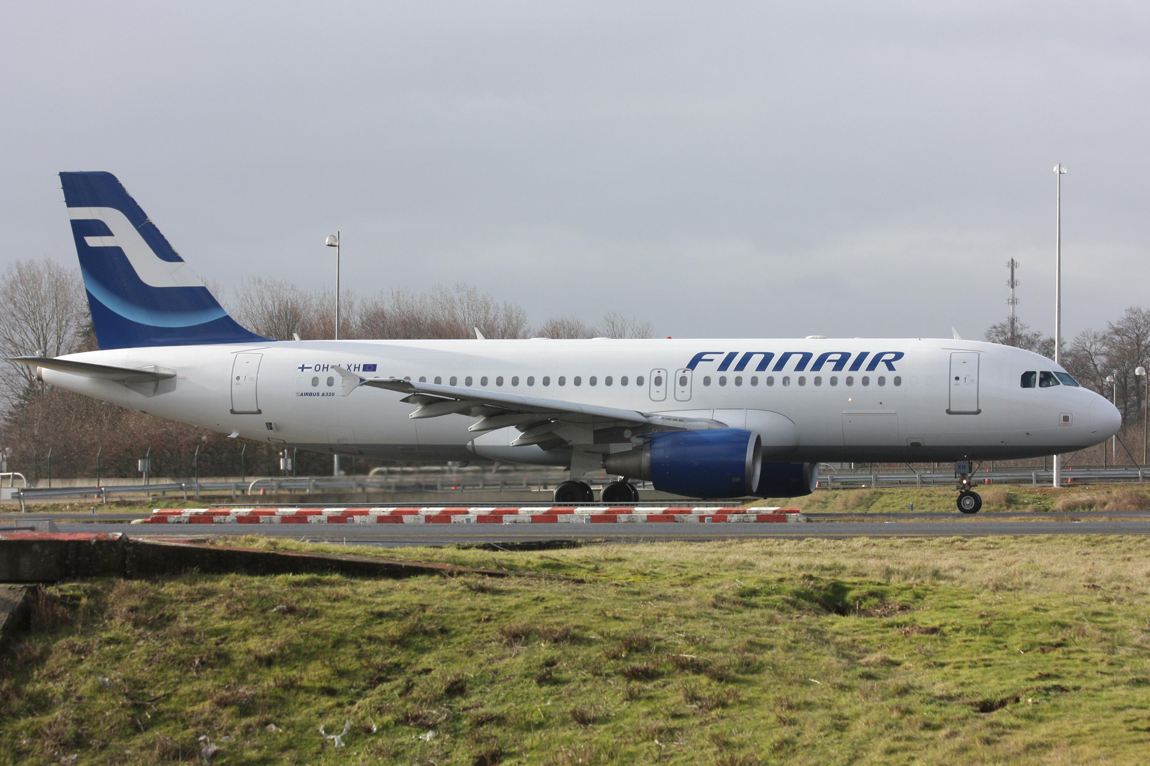 En Airbus A320 fra Finnair. Foto: Quentin Douchet