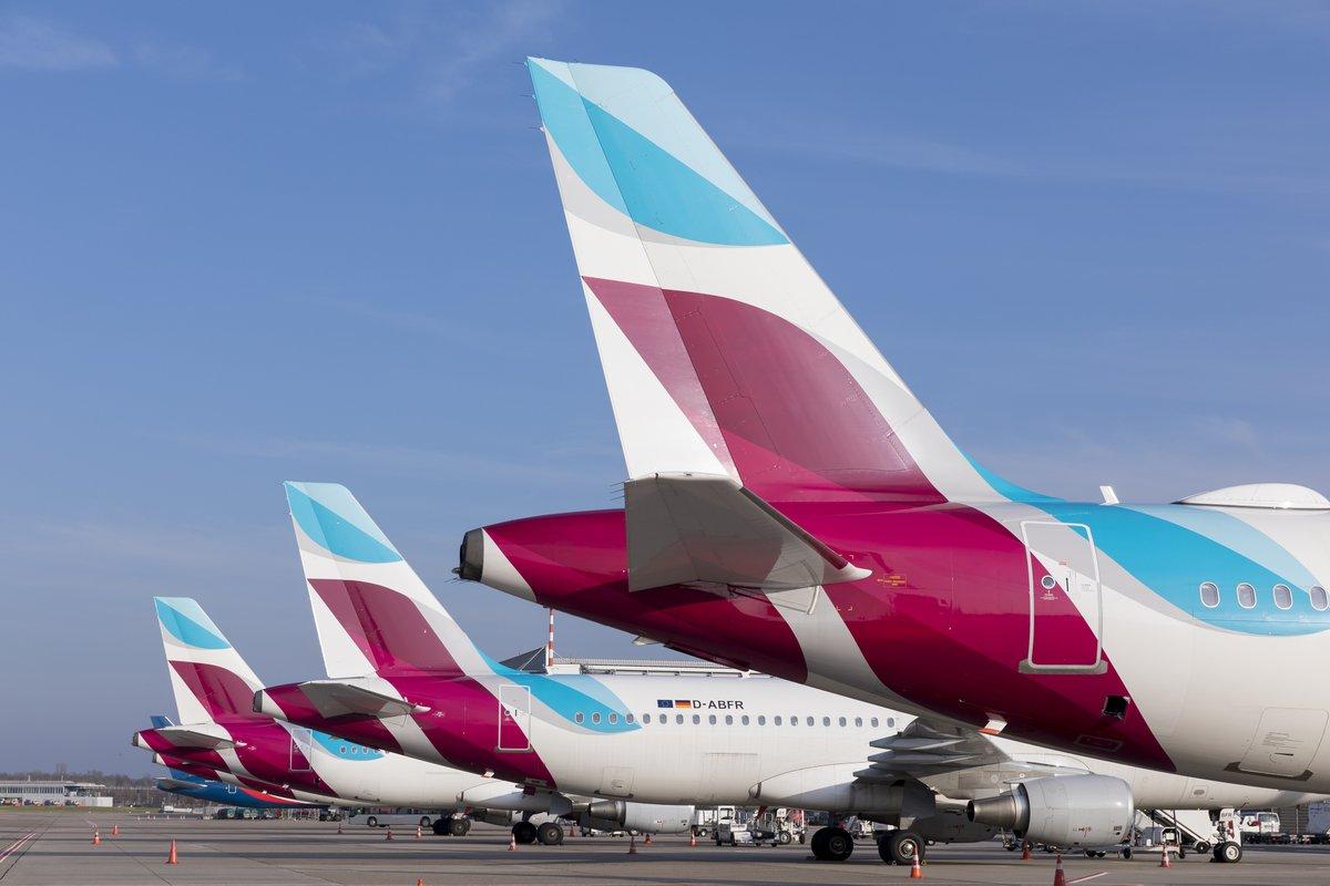 Airbus A320-fly fra Eurowings (Foto: Eurowings)