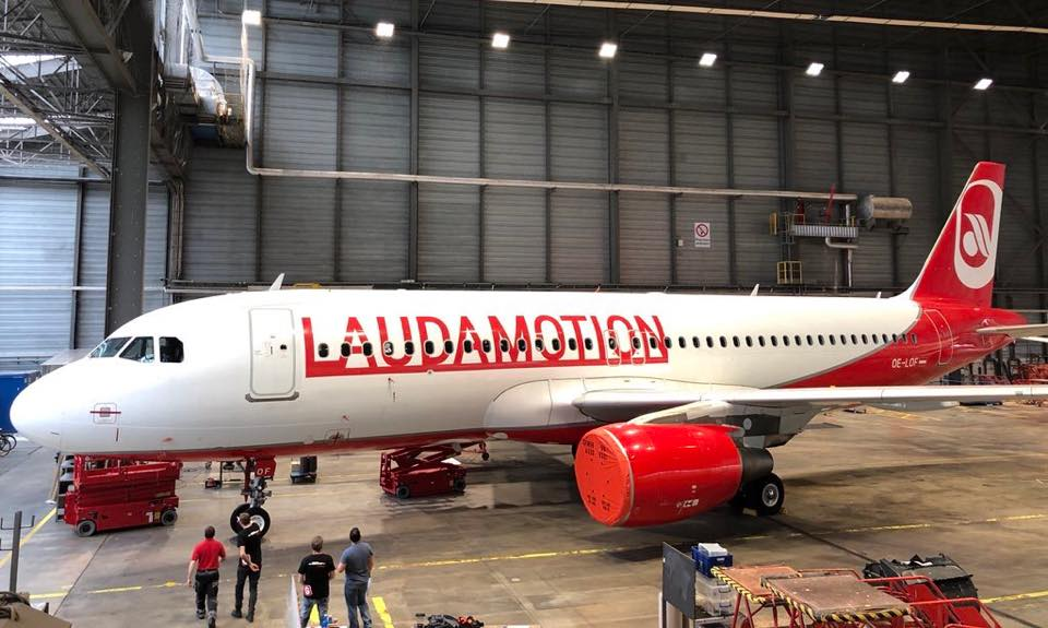 Laudamotion (Foto: Great Flyver Aviation)