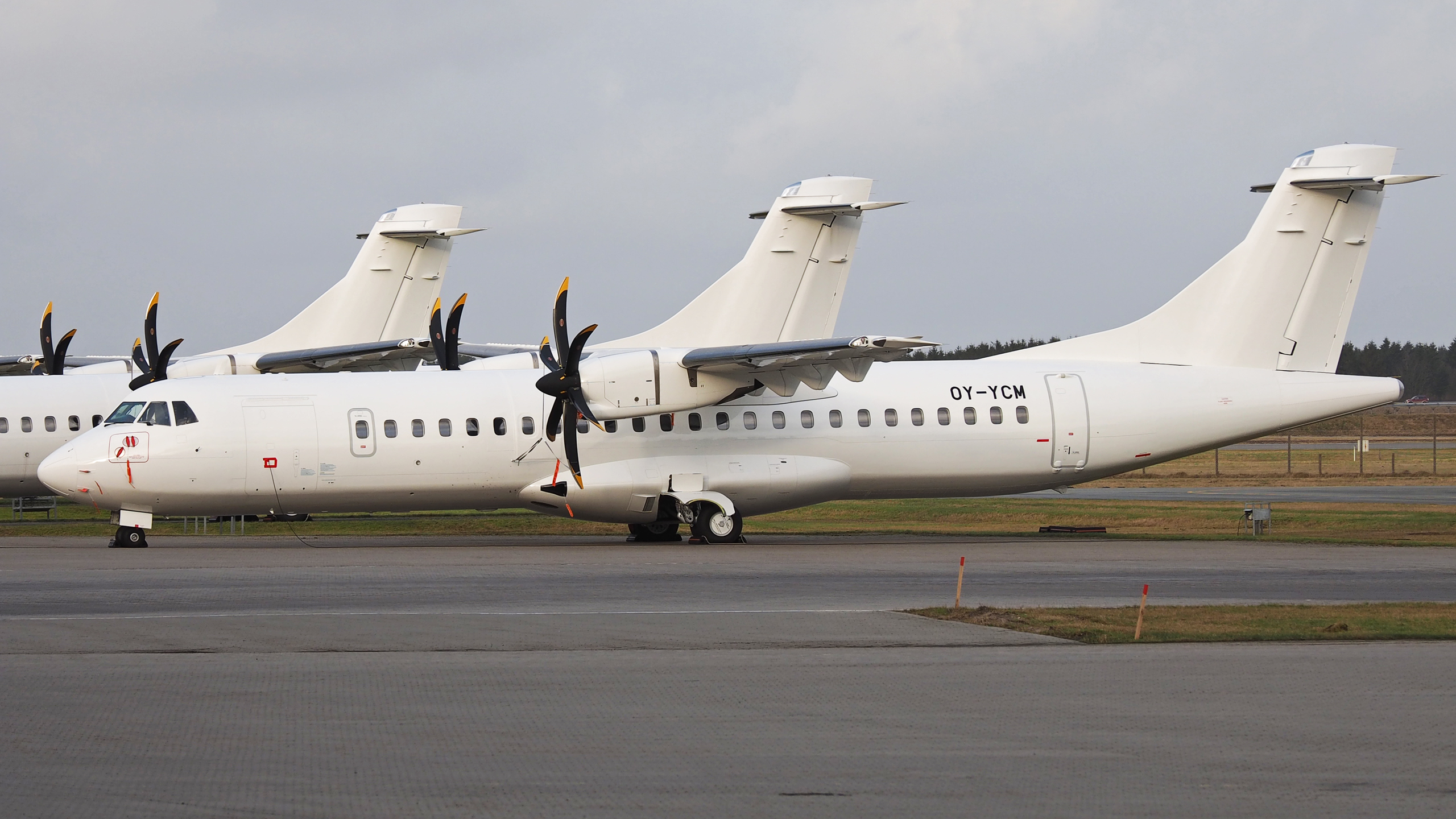 Nye ATR72-600 hos Nordic Capital Aviation i Billund. (Foto: Erik Gjørup – SAIcollection)