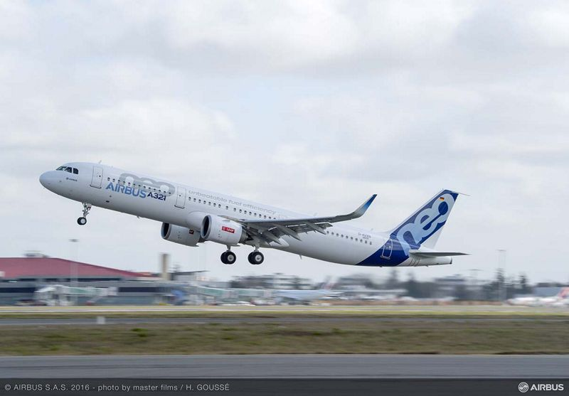 A321neo. Foto: Airbus