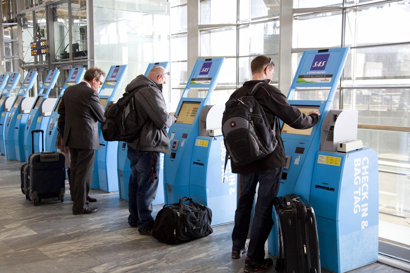 SAS Self Service-automater. (Foto: SAS)