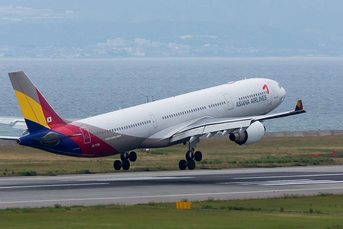 Asiana Airlines Airbus A330-300. (Foto: Iasta29 | Creative Commons 2.0)