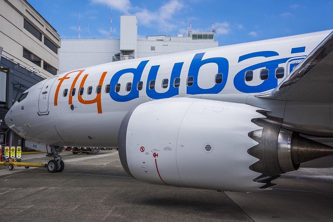 Flydubai Boeing 737 MAX 8 (Foto: flydubai)