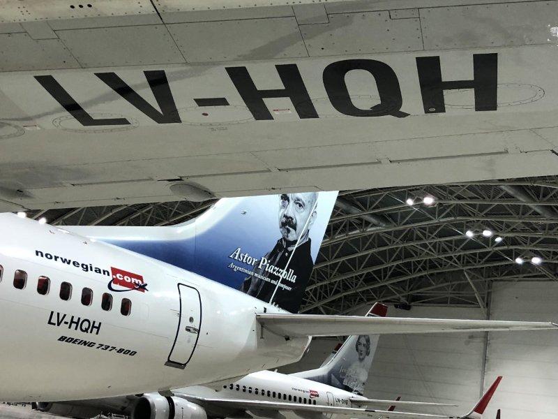 Norwegian Air Argentina – Boeing 737-800 – LV-HQH (Foto: Chano Madsen | LinkedIn)