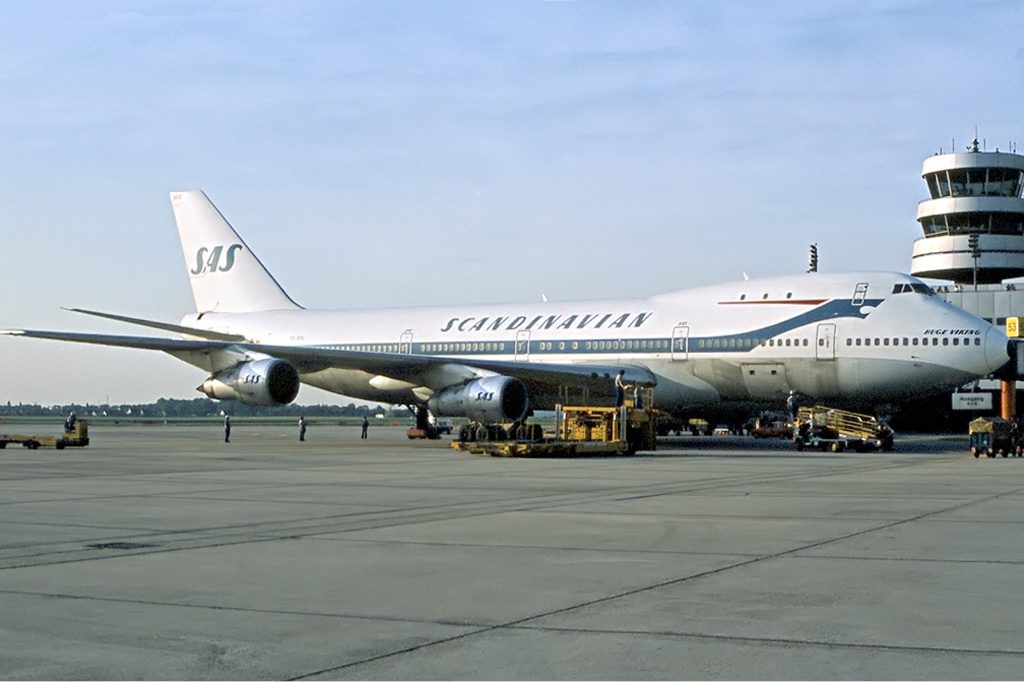 SAS Boeing 747-200 (Foto: Udo Haafke | GNU 1.2)