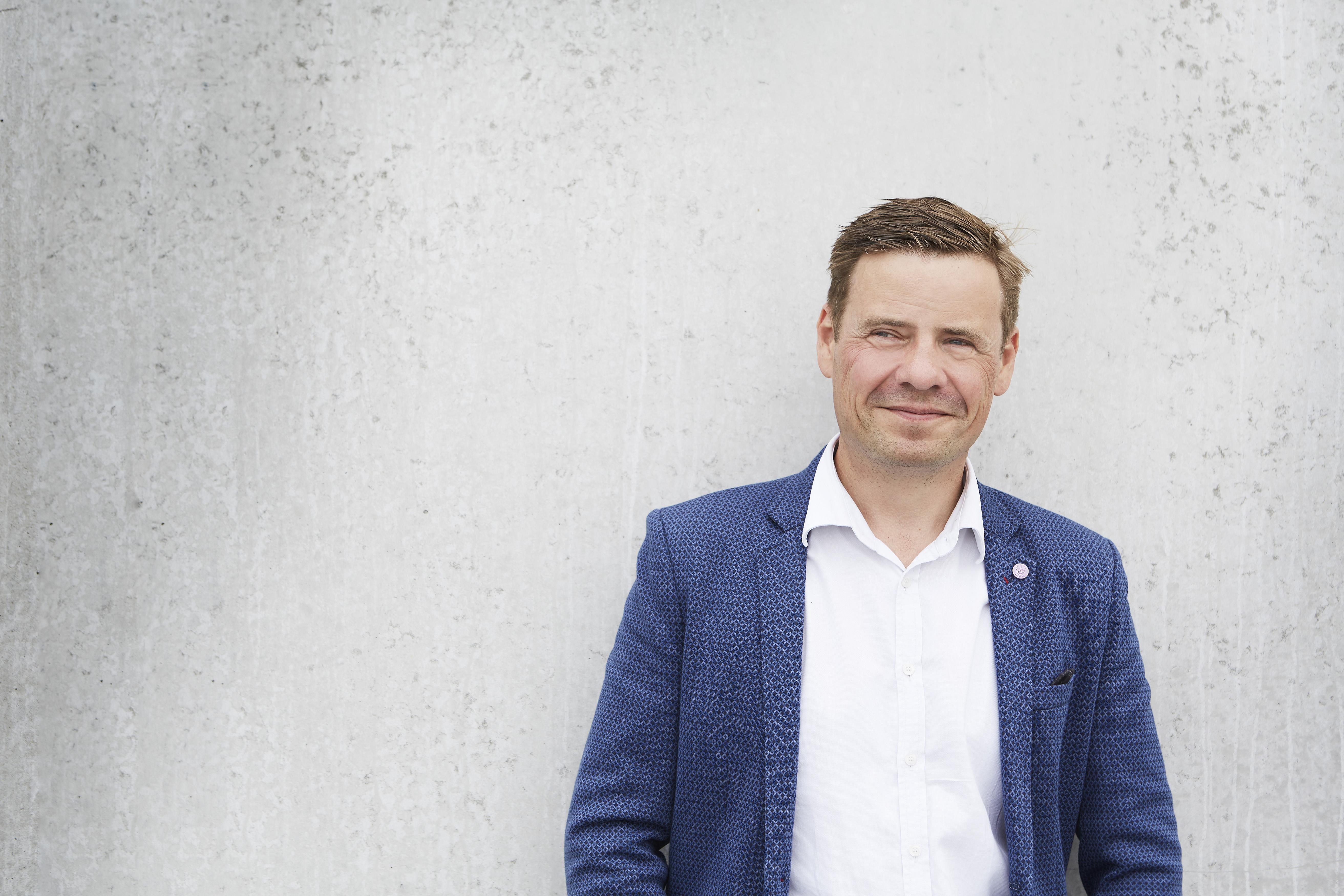 Thomas Kastrup Larsen, bestyrelsesformand i Aalborg Lufthavn. (Foto: thomaskastruplarsen.dk)