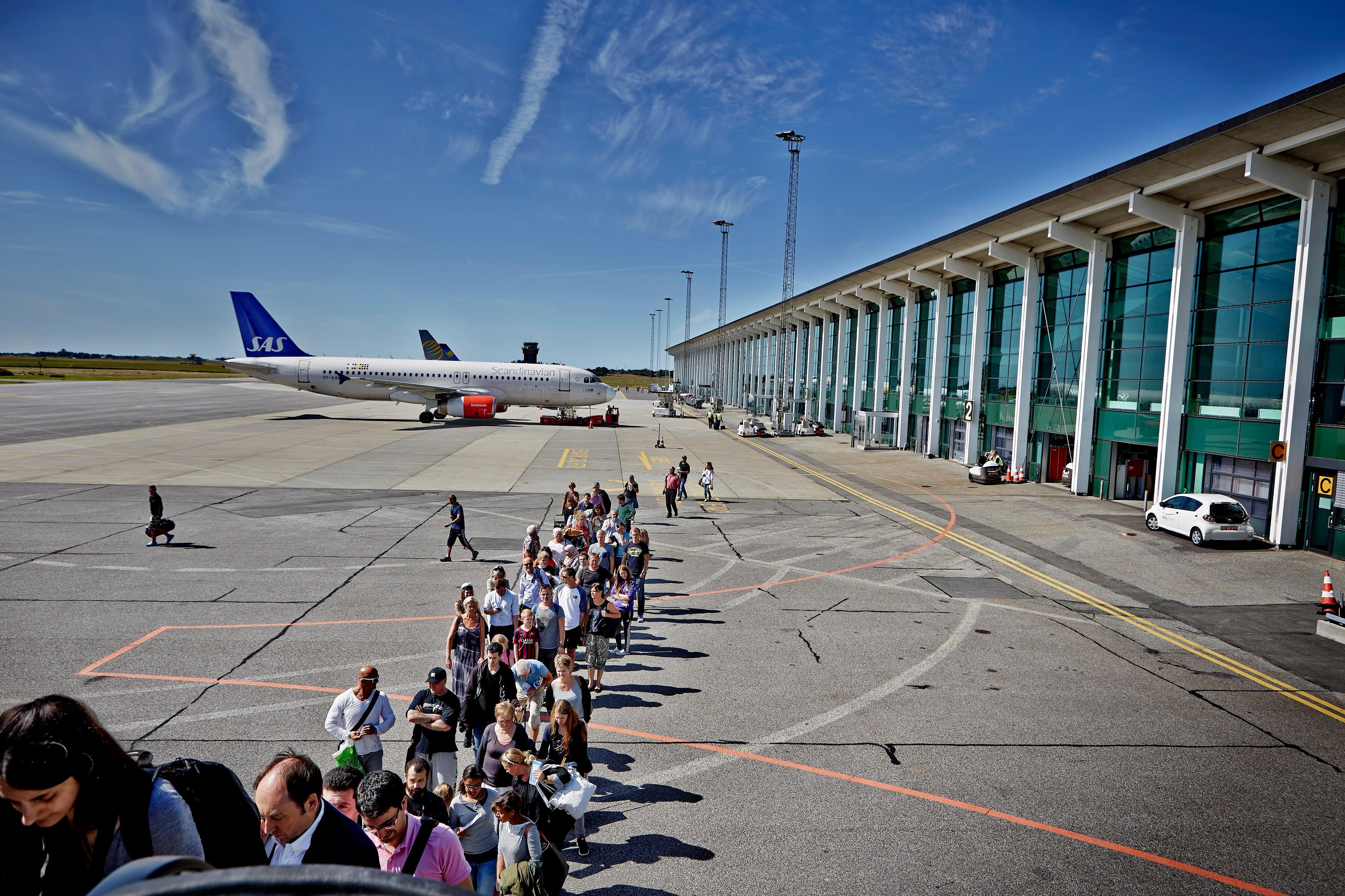 Boarding på fly i Aalborg Lufthavn. (Arkivfoto: Aalborg Lufthavn)