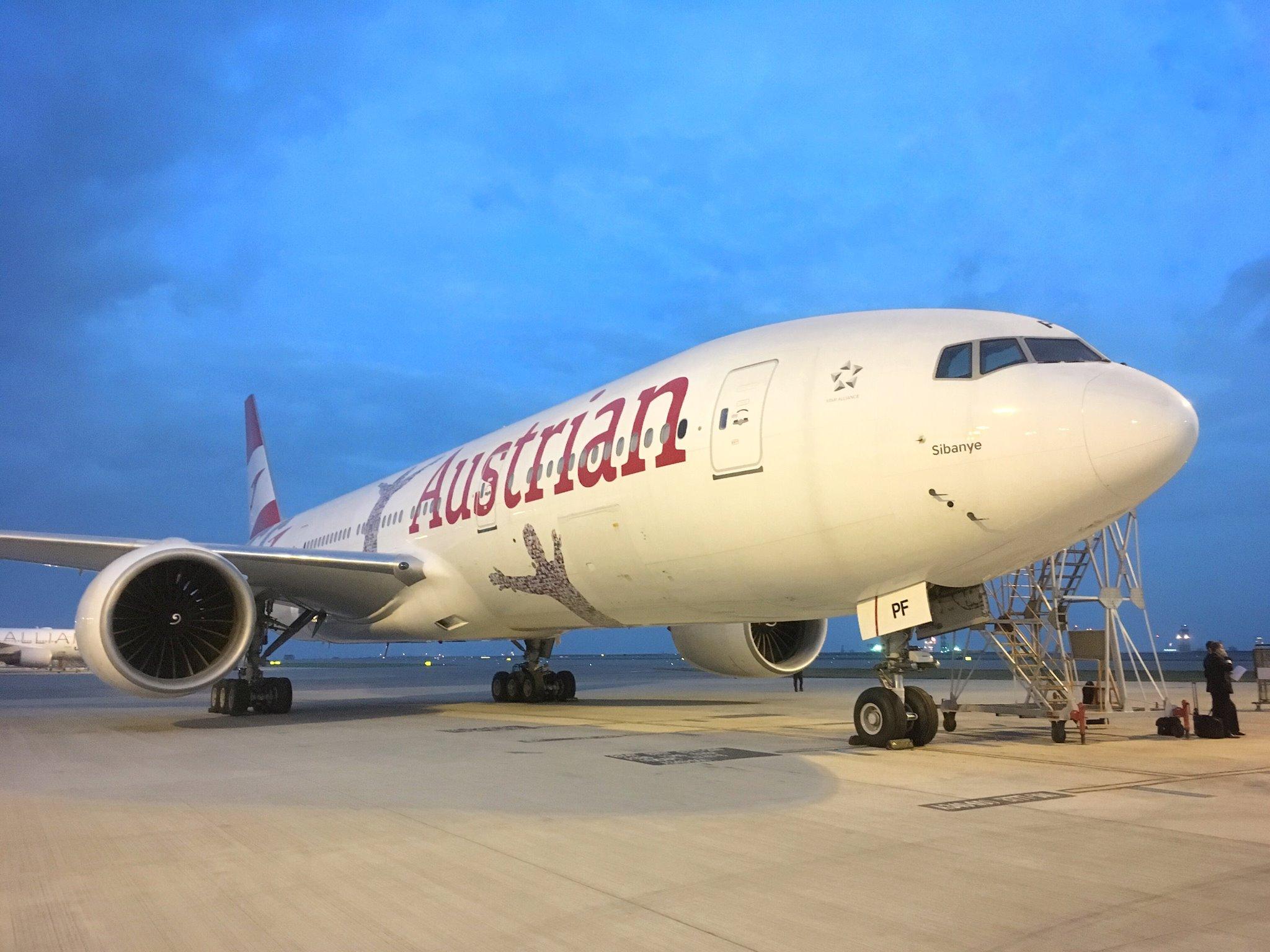 Austrian Airlines Boeing 777-200 OE-LPF (Foto: AUA)
